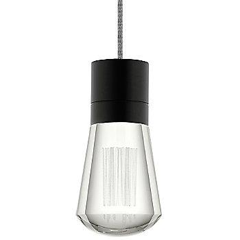 Black finish / Black/ White cord / Detail view