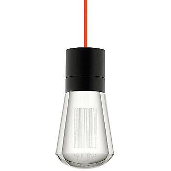 Black finish / Orange cord / Detail view