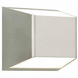 Ebb Outdoor Wall Light (Satin Nickel/1287) - OPEN BOX RETURN
