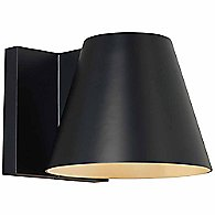 Bowman Outdoor Wall Sconce (Black/Large) - OPEN BOX RETURN