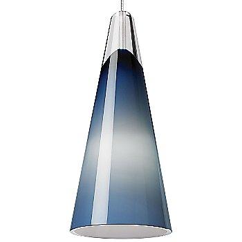 Steel Blue shade / Chrome finish