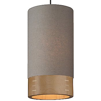 Heather Gray with Maple shade / Antique Bronze finish