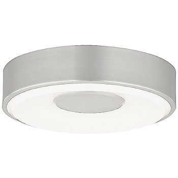 Shown in Satin Nickel, Small