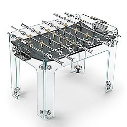 Cristallino Gold Foosball Table, Limited Edition