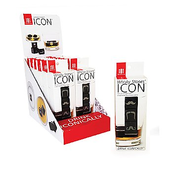Icon Whisky Stones packaging