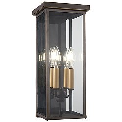 Casway Outdoor Pocket Wall Light (17 inch) - OPEN BOX