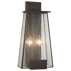Bistro Dawn 2-Light Outdoor Wall Light - OPEN BOX RETURN