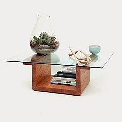 SQG42 Rectangular Glass Top Table