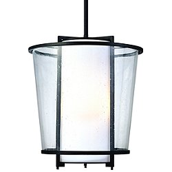 Bennington Outdoor Pendant (Bronze/L/Opal) - OPEN BOX RETURN