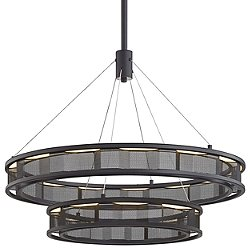 Fuze LED Tiered Pendant Light