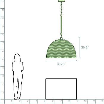 44 Inch Diameter Option