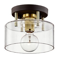 Bergamot Station Semi-Flush Mount Ceiling Light