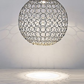 Shown in 28-Inch / Nickel, illuminated