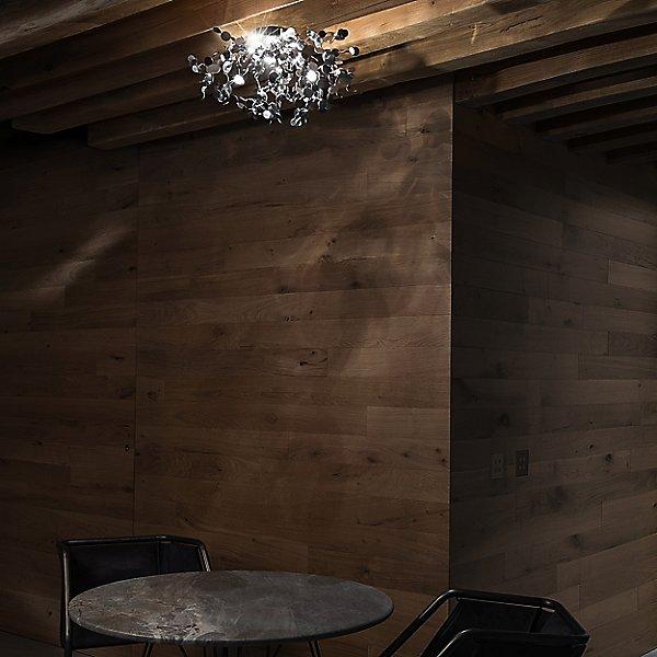 Argent Semi-Flush Mount Ceiling Light