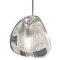 Mizu 3-Light Pendant by Terzani(Silver Dust)-OPEN BOX RETURN