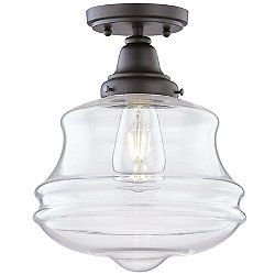 Salem Outdoor Flush Mount Ceiling Light