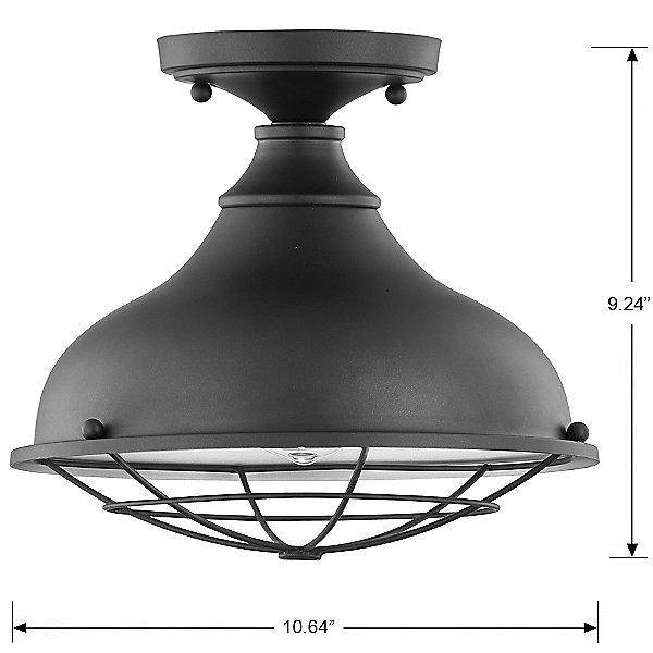 Camden Outdoor Flush Mount Ceiling Light