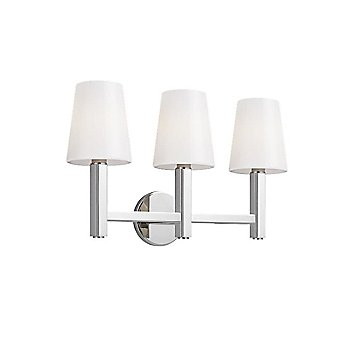 Shown in Polished Nickel finish, 3 Light Option