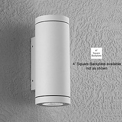 Alume AWL.70 Wall Sconce (White/4inSquare) - OPEN BOX RETURN