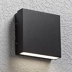 Alume AWL.60 Wall Sconce (Black/2 Lights) - OPEN BOX RETURN