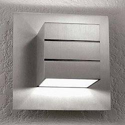 AWL.13.1 Wall Sconce (Aluminum w/ Clear Lacquer) - OPEN BOX