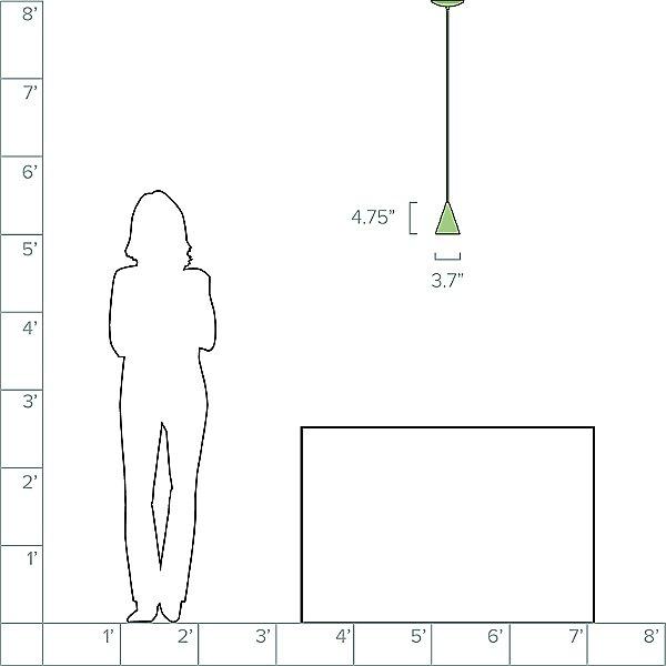 Designer Series LEP-L LED Mini Pendant Light