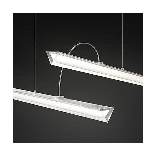 Halo Lineal Double LED Pendant Light