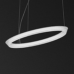 Halo Circular Single LED Pendant Light