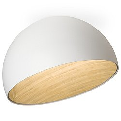 DUO Bowl Flush Mount Ceiling Light