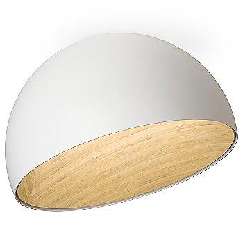 Matte White finish / Asymmetrical