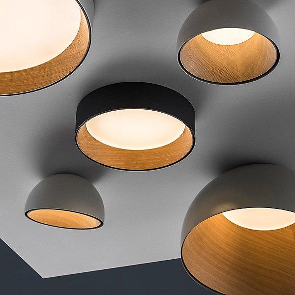 DUO Bowl Flush Mount Ceiling Light