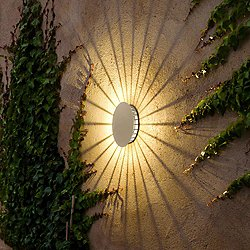 Meridiano Outdoor Wall Sconce (Off-White) - OPEN BOX RETURN