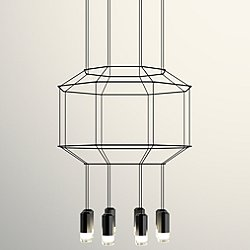 Wireflow 3D Octagonal Pendant Light
