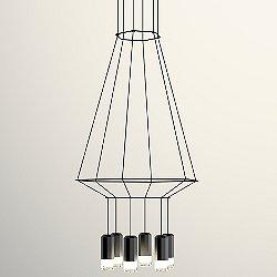 Wireflow 3D Hexagonal Pendant Light