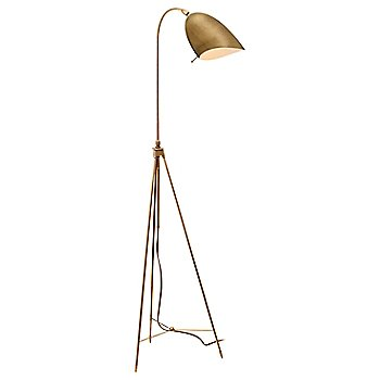 Shown in Brass shade