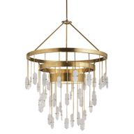 Brass Crystal Chandeliers