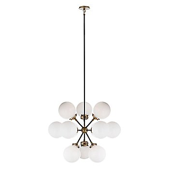 Shown in Polished Nickel with clear glass