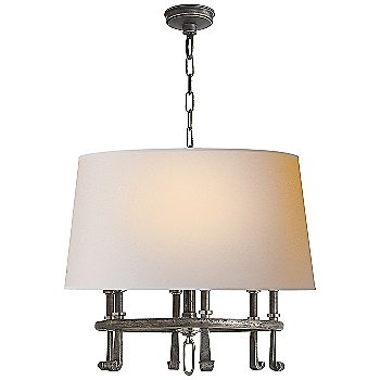 Shown in Sheffield Nickel with Antique Nickel Accents finish