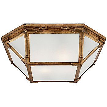 Frosted shade color / Polished Nickel finish / Large size