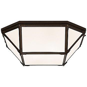 White shade color / Gilded Iron finish / Large size