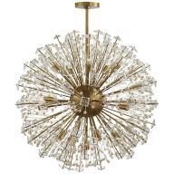Brass Sputnik Chandeliers