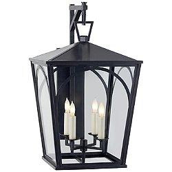 Darlana Arc Outdoor Wall Bracket Lantern