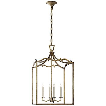 Shown in Gilded Iron finish, Medium size