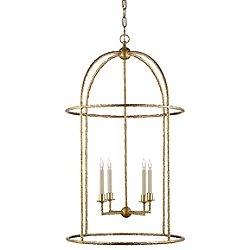 Desmond Cage Lantern Pendant Light