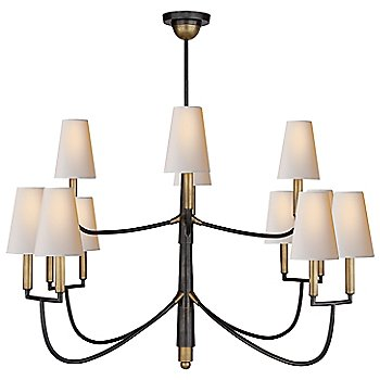 Shown in Bronze/Hand-Rubbed Antique Brass finish