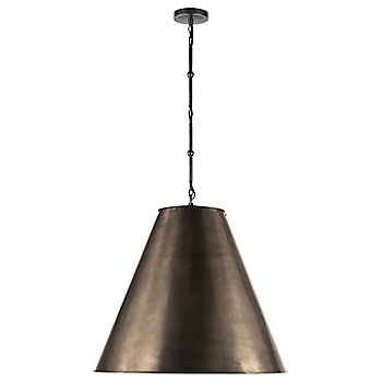 Shown in Bronze with White Interior and Bronze finish, Large size