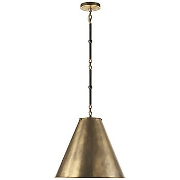 Shown in Hand-Rubbed Antique Brass/White Interior, Bronze/Hand-Rubbed Antique Brass, Small