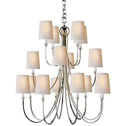Reed 3-Tier Chandelier
