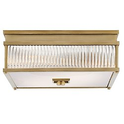 Allen Square Flush Mount Ceiling Light