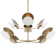 Brushed Brass Chandeliers